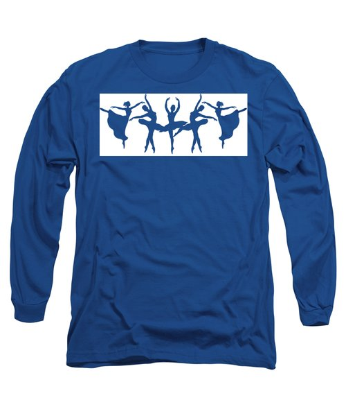 Ballerinas Dancing Silhouettes Long Sleeve T-Shirt