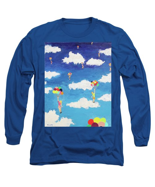 Balloon Girls Long Sleeve T-Shirt