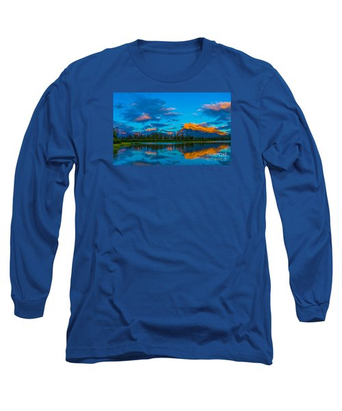 Banff Vermillion Lakes Long Sleeve T-Shirt