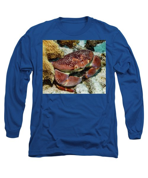 Batwing Coral Crab Long Sleeve T-Shirt