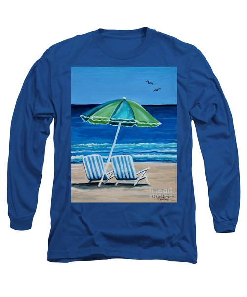 Beach Chair Bliss Long Sleeve T-Shirt