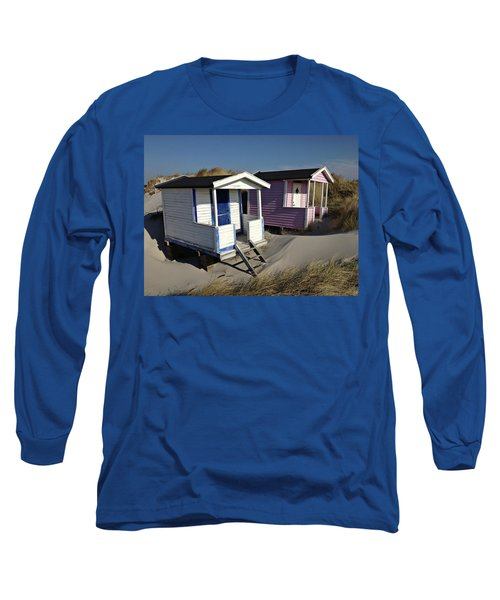 Beach Houses At Skanor Long Sleeve T-Shirt