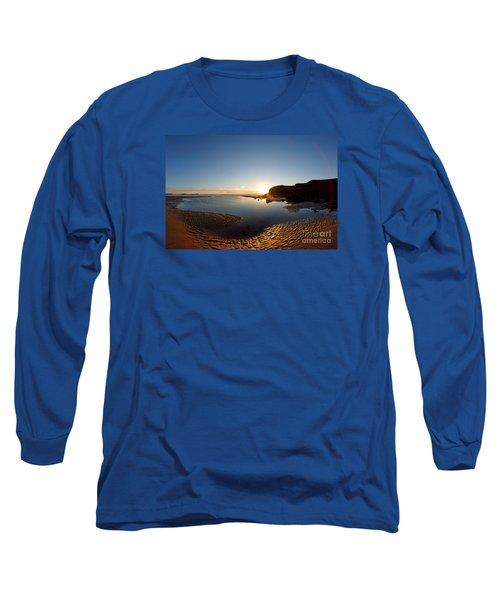 Beach Textures Long Sleeve T-Shirt