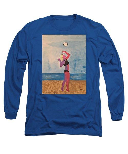 Beach Volleyball Long Sleeve T-Shirt