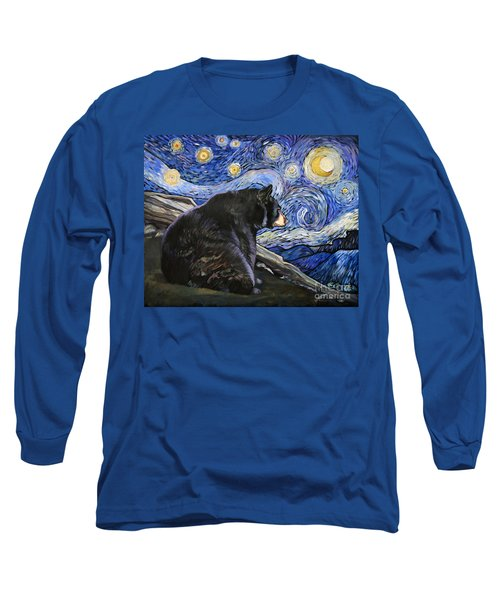 Beary Starry Nights Long Sleeve T-Shirt