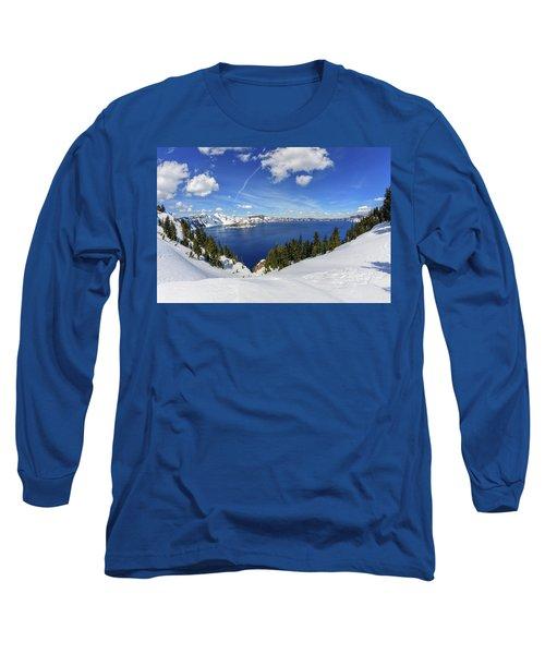 Beautiful Crater Lake Long Sleeve T-Shirt