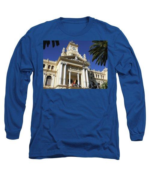 Beautiful Malaga City Hall Long Sleeve T-Shirt
