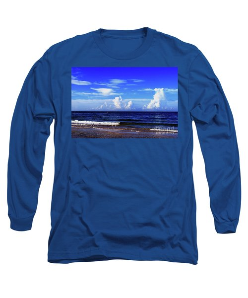 Long Sleeve T-Shirt featuring the photograph Beautiful Ocean View by Gary Wonning