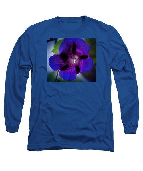 Beauty In Blue Long Sleeve T-Shirt by Milena Ilieva