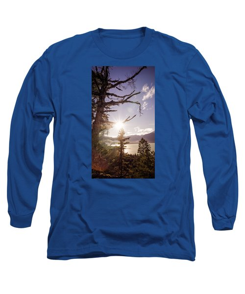 Long Sleeve T-Shirt featuring the photograph Before Sunset by Michele Cornelius