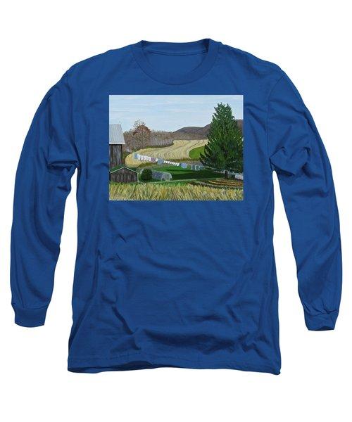 Beiler's View Of Egg Hill Long Sleeve T-Shirt