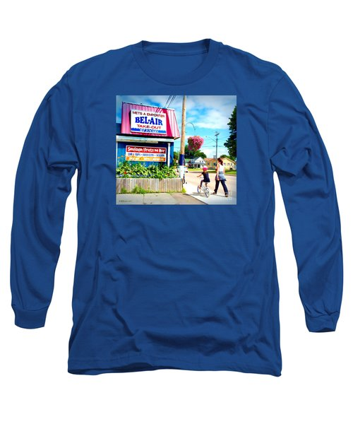 Bel Air  Long Sleeve T-Shirt by Patricia L Davidson