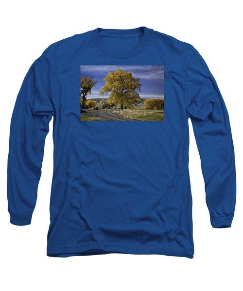 Belfry Fall Landscape 5 Long Sleeve T-Shirt