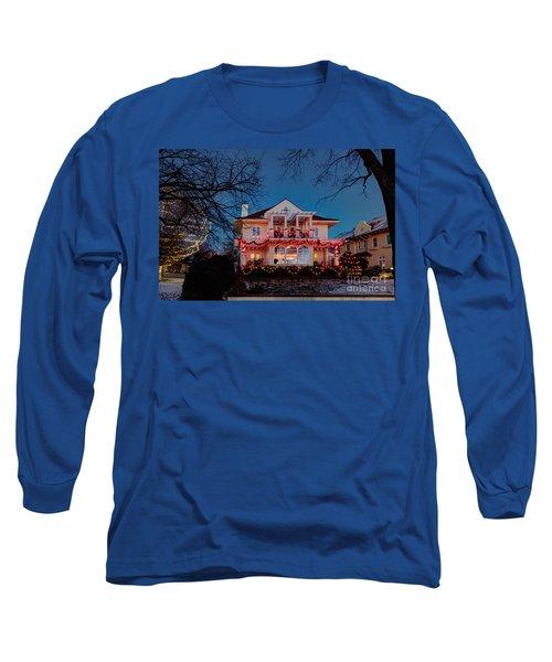 Best Christmas Lights Lake Of The Isles Minneapolis Long Sleeve T-Shirt