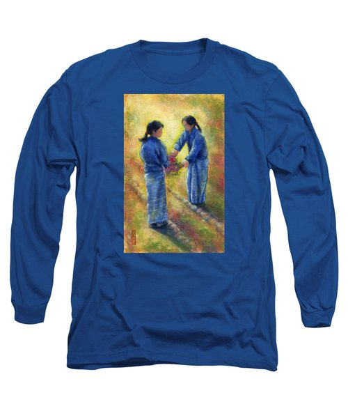 Best Friends Long Sleeve T-Shirt by Retta Stephenson