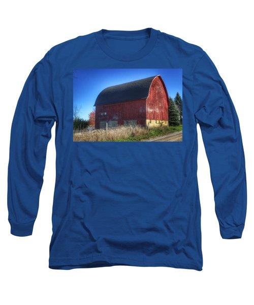 0007 - Big Red Vii Long Sleeve T-Shirt