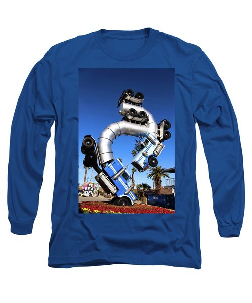 Big Rig Jig Balancing In Vegas Long Sleeve T-Shirt