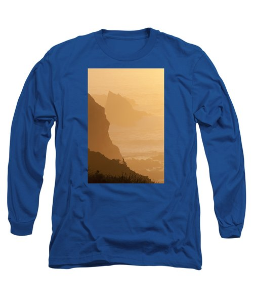 Big Sur Sunset Long Sleeve T-Shirt