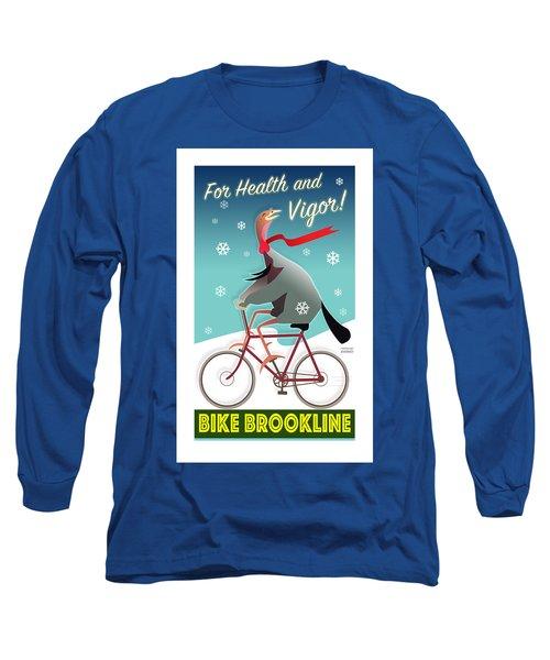 Bike Brookline Long Sleeve T-Shirt