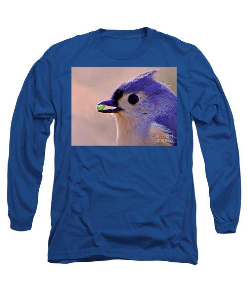 Bird Photography Series Nmb 4 Long Sleeve T-Shirt by Elizabeth Coats