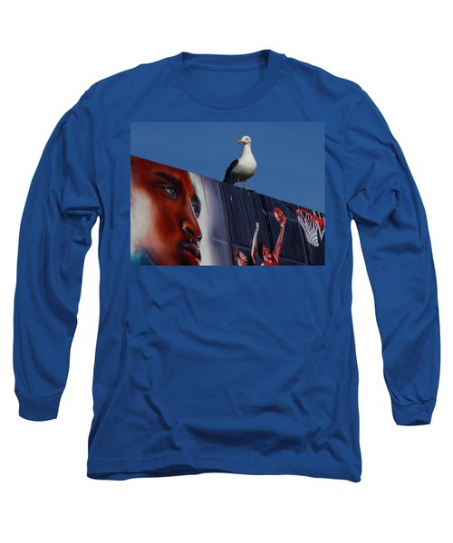 Birds Eye View Long Sleeve T-Shirt by Xn Tyler