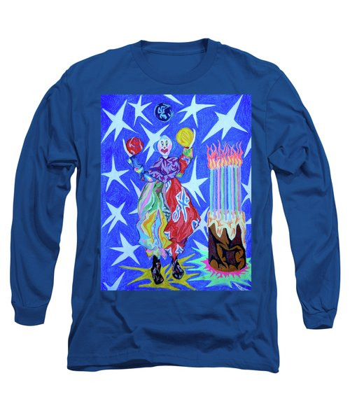 Birthday Clown Long Sleeve T-Shirt