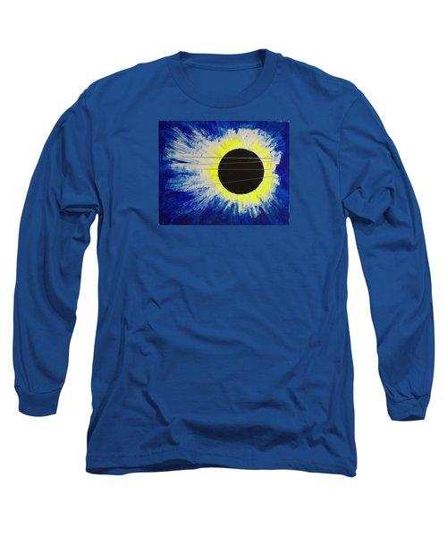 Black Hole Blues Long Sleeve T-Shirt
