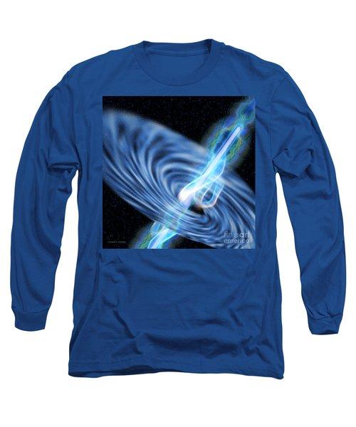 Black Hole Radiation Long Sleeve T-Shirt