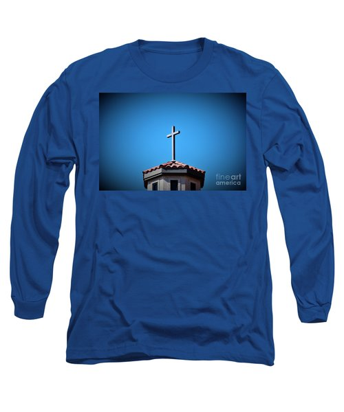 Long Sleeve T-Shirt featuring the photograph Blessings To Everyone Of All Faiths by Ray Shrewsberry