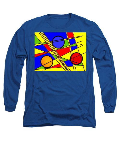 Blocks Of Color Long Sleeve T-Shirt