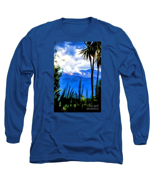 Long Sleeve T-Shirt featuring the photograph Blowing Steam by Rick Bragan