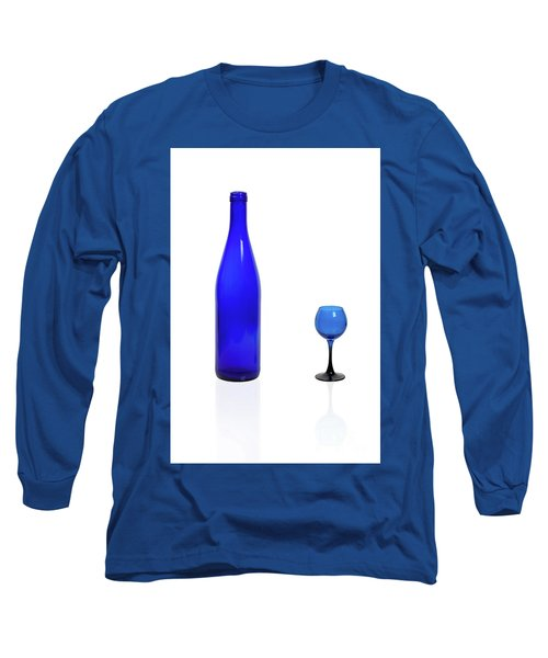 Blue  #2438 Long Sleeve T-Shirt