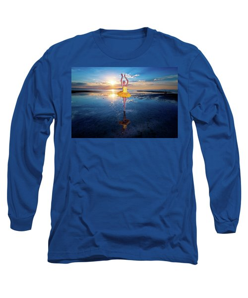 Blue And Yellow 2 Long Sleeve T-Shirt