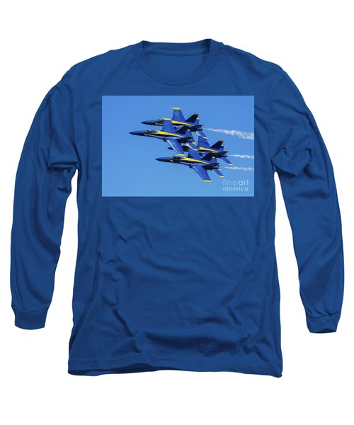 Blue Angels Very Close Formation 1 Long Sleeve T-Shirt