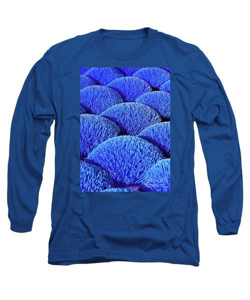 Blue Asia Sound Long Sleeve T-Shirt