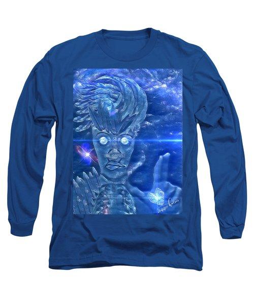 Blue Avian Long Sleeve T-Shirt