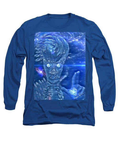 Blue Avian Long Sleeve T-Shirt