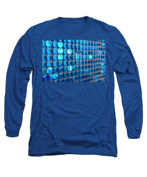 Blue Long Sleeve T-Shirt by Barbara Bardzik