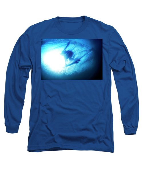 Blue Barrel Long Sleeve T-Shirt