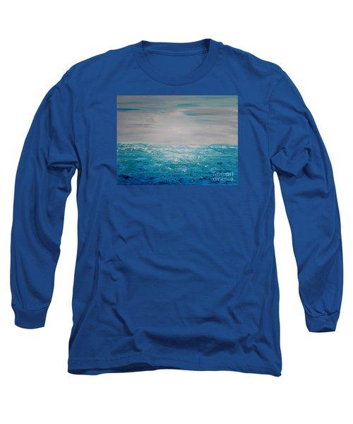 Blue Beach Long Sleeve T-Shirt
