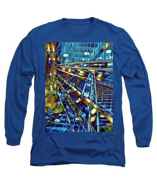 Blue Berlin Sound Long Sleeve T-Shirt