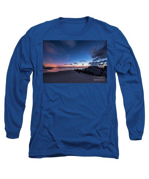 Blue Betsy Sunrise Long Sleeve T-Shirt by Robert Loe