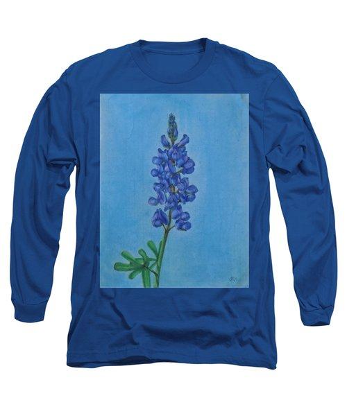 Blue Bonnet Long Sleeve T-Shirt