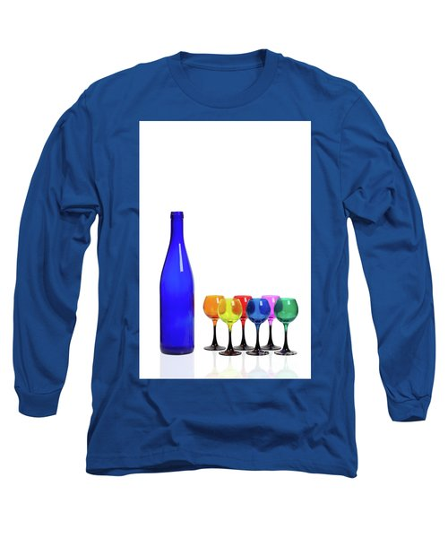Blue Bottle #2429 Long Sleeve T-Shirt