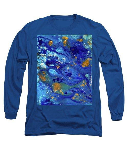Blue Dream Long Sleeve T-Shirt by Sean Brushingham
