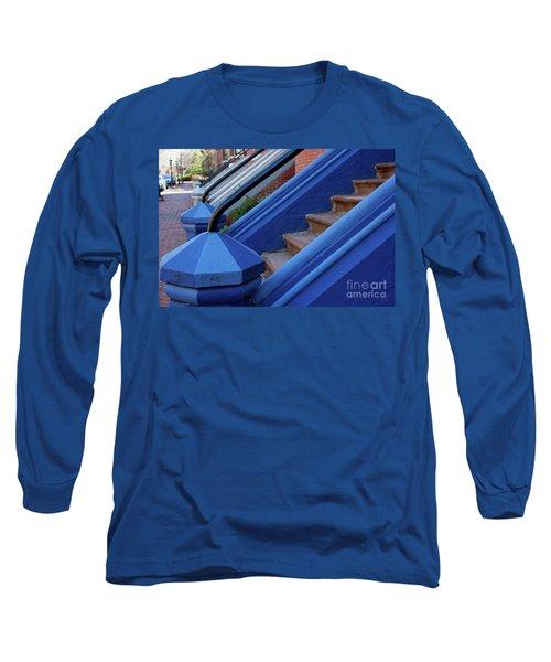 Blue Entry Long Sleeve T-Shirt