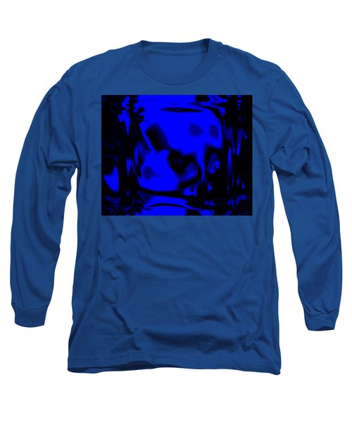 Blue Fashion Long Sleeve T-Shirt