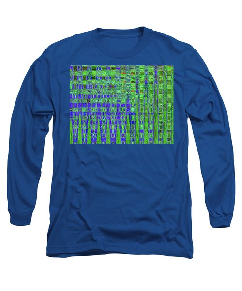 Blue For Green Long Sleeve T-Shirt