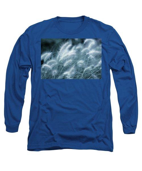 Blue Gras Long Sleeve T-Shirt