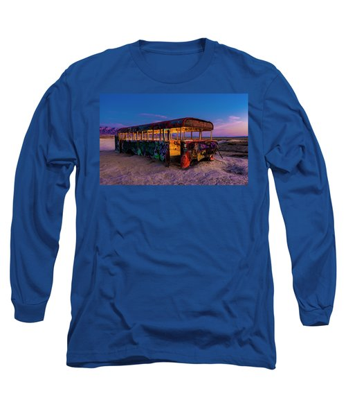 Blue Hour Bus Long Sleeve T-Shirt